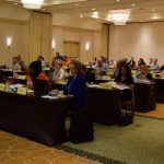Conference participants ready for a new Spring workshop